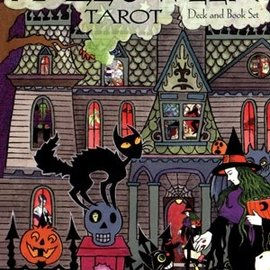 OMEN Halloween Tarot Deck & Book Set: 78-Card Deck [With Book]