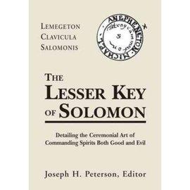 OMEN Lesser Key of Solomon: Detailing the Ceremonial Art of Commanding Spirits Booth Good and Evil