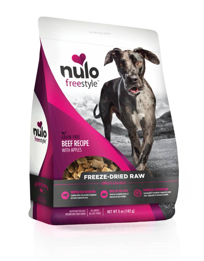 Nulo Nulo Freeze Dried Raw Dog Food Beef
