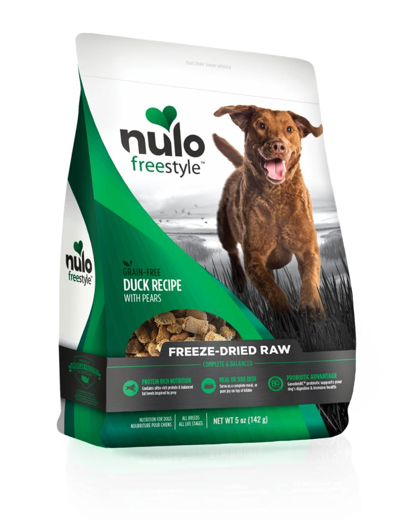 Nulo Nulo Freeze Dried Raw Dog Food Duck