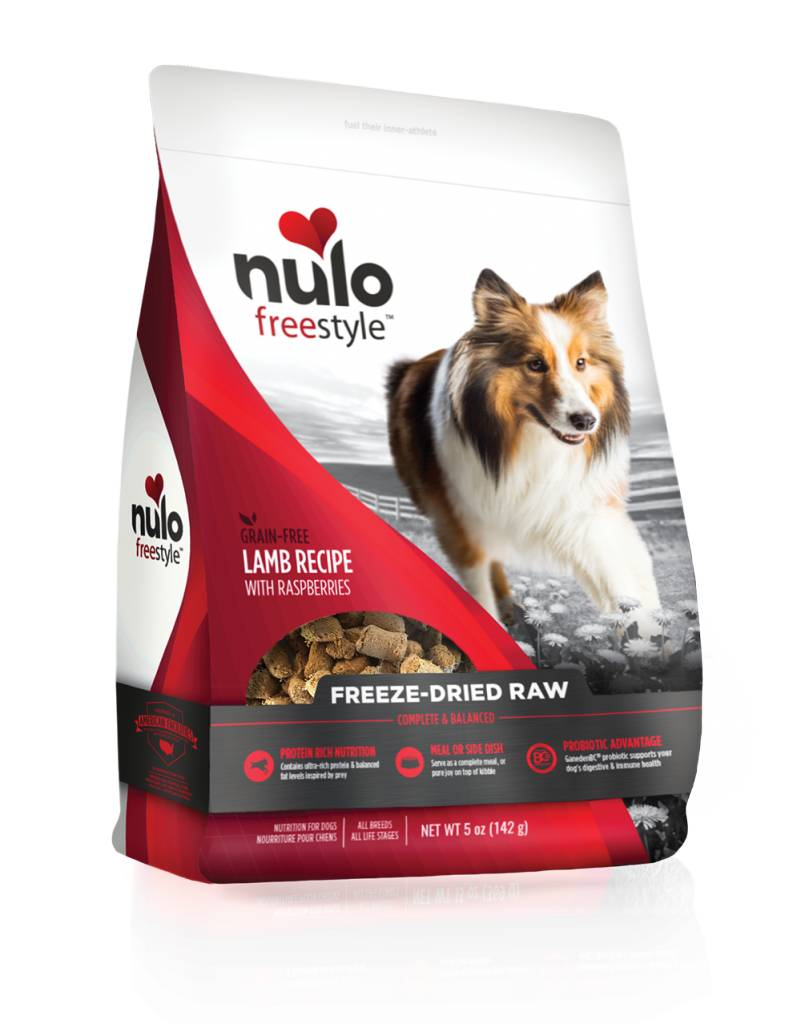 Nulo Nulo Freeze Dried Raw Dog Food Lamb