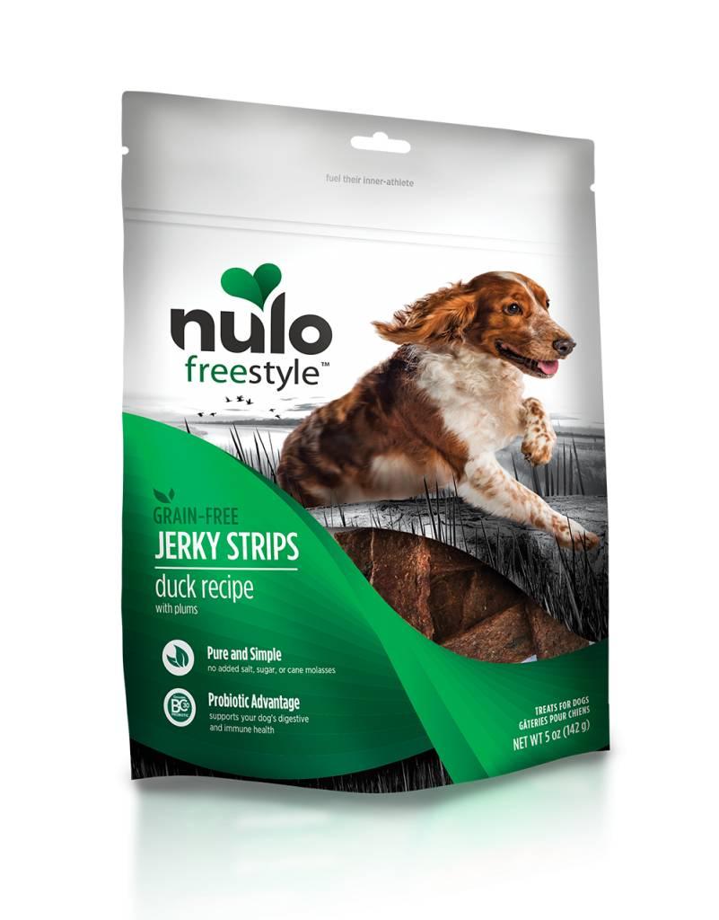 Nulo Nulo Jerky Strip Dog Treats Duck