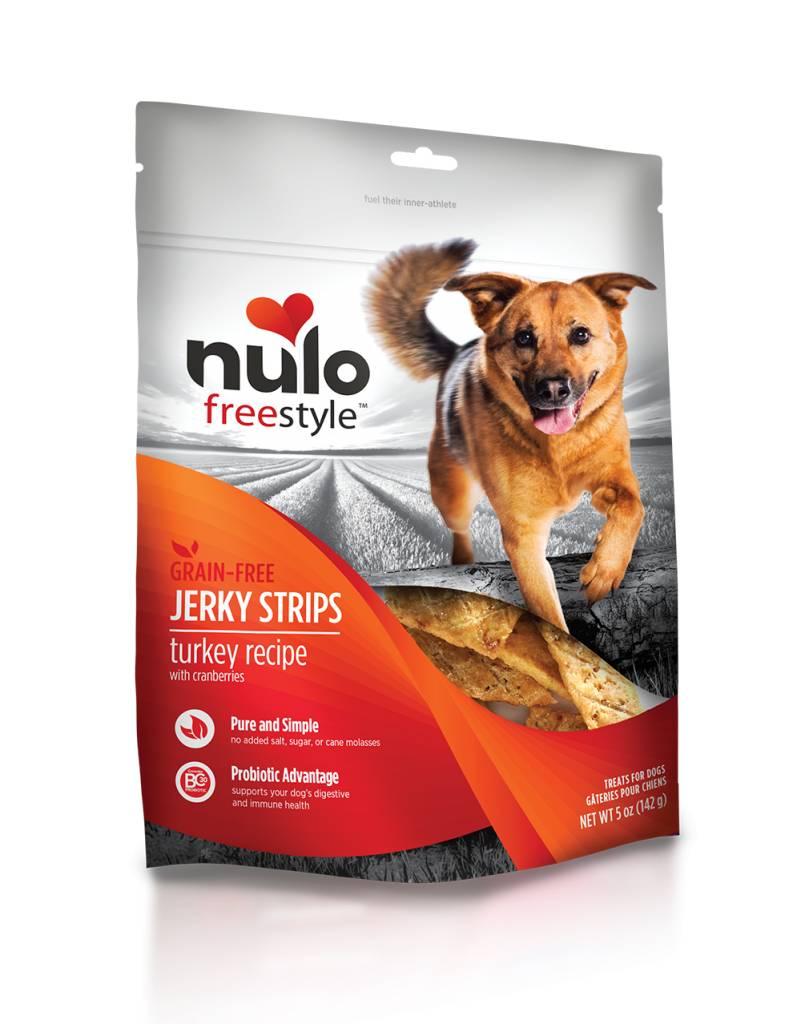 Nulo Nulo Jerky Strip Dog Treats Turkey