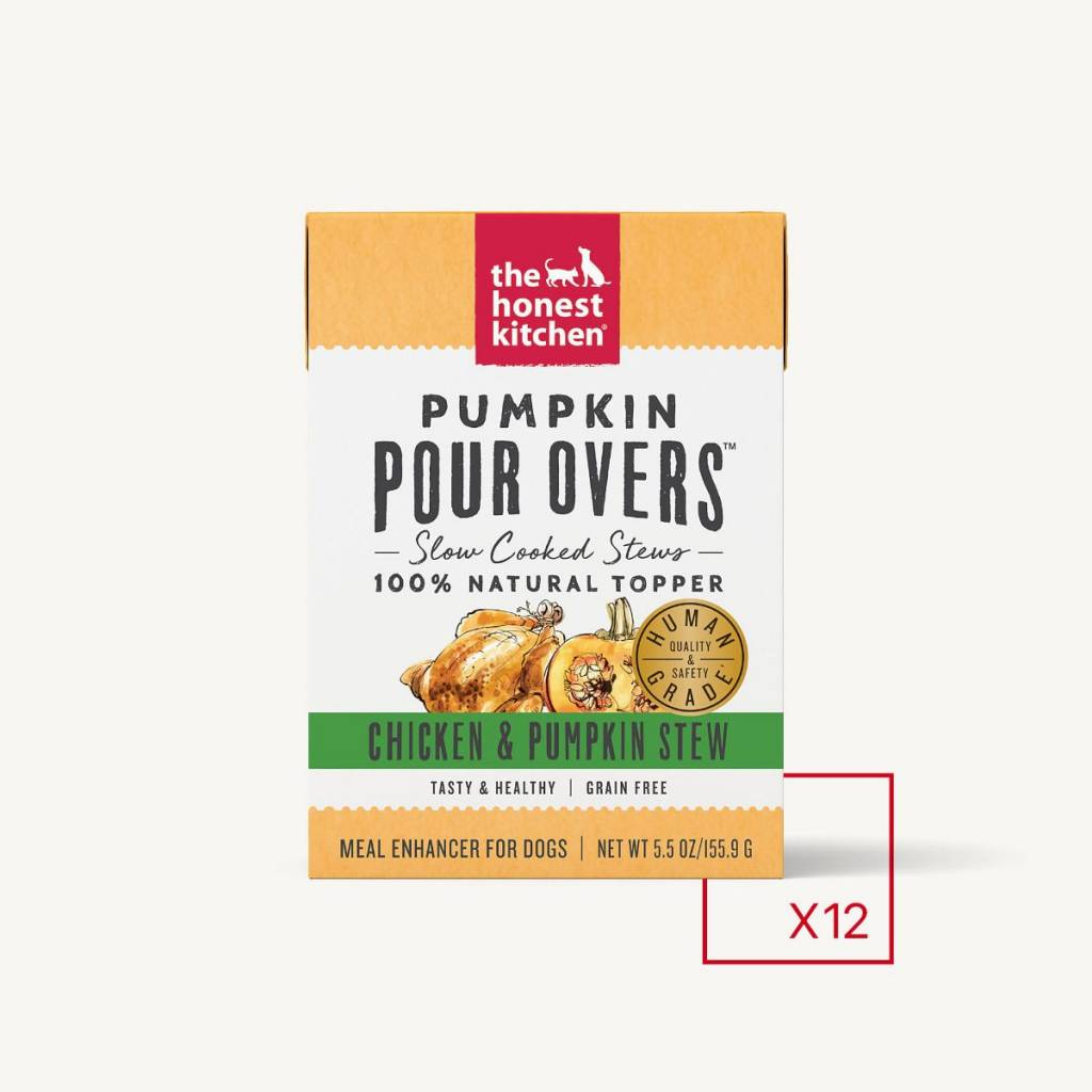Honest Kitchen Honest Kitchen Pourovers Chicken Pumpkin 5.5 oz.
