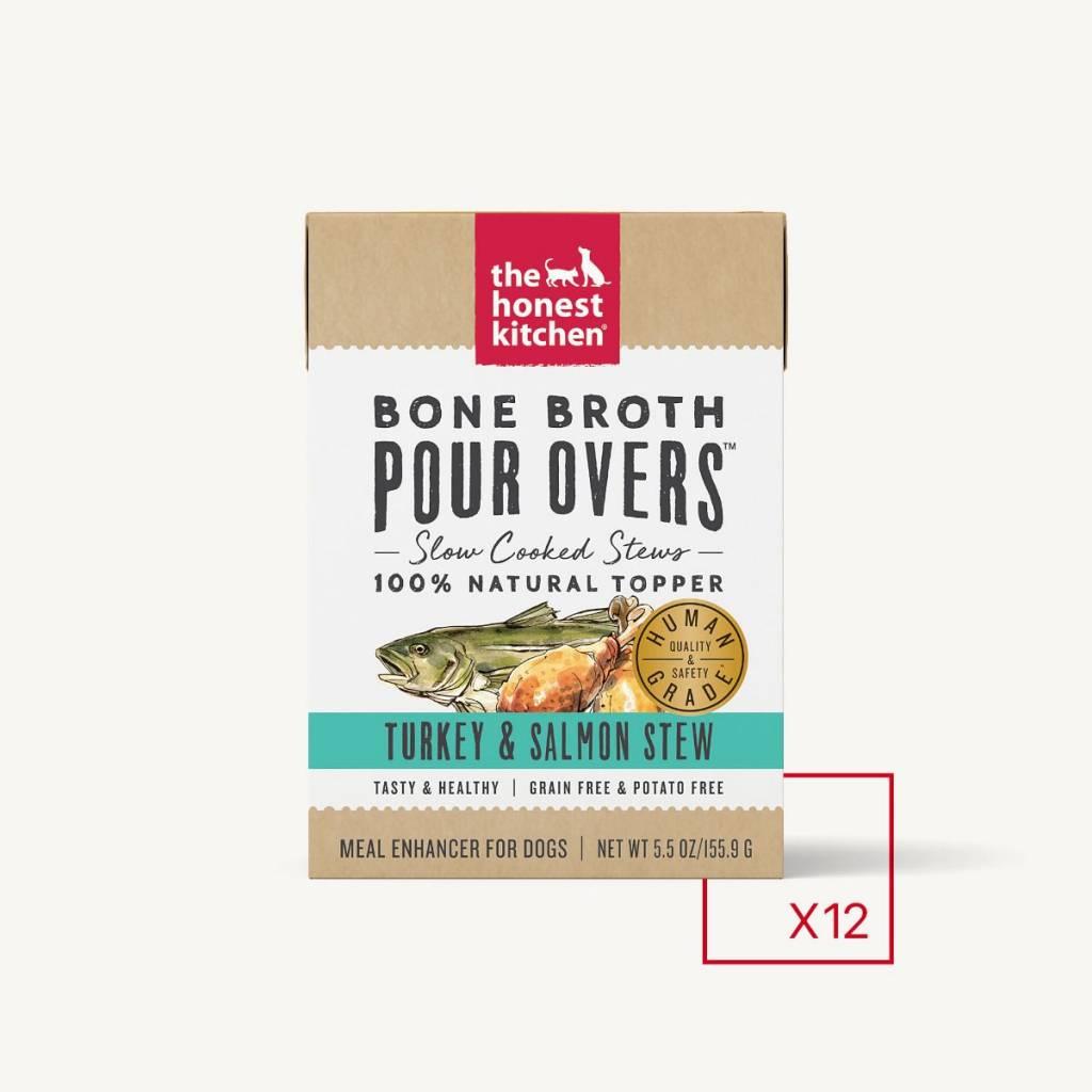 Honest Kitchen Honest Kitchen Pourovers Bone Broth Turkey & Salmon 5.5 oz.