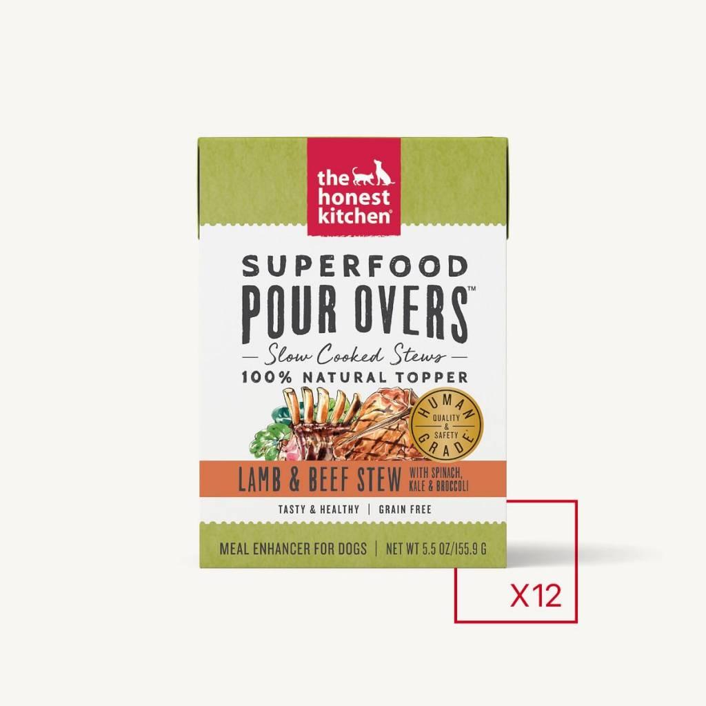 Honest Kitchen Honest Kitchen Pourovers Superfood Lamb & Beef 5.5 oz.