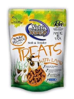 Nutri Source Nutri Source Soft & Tender Dog Treats - Lamb 6oz.