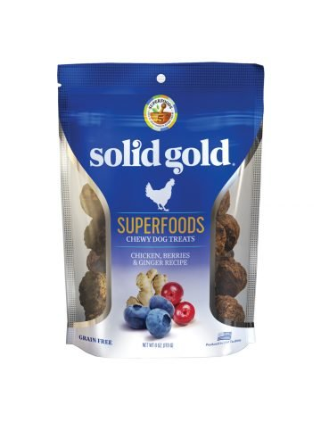 Solid Gold Solid Gold Chewy Dog Treats Chicken Berries & Ginger 6 oz