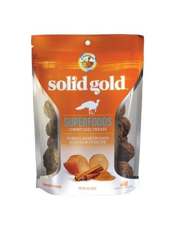 Solid Gold Solid Gold Chewy Dog Treats Turkey Sweet Potato & Cinnamon 6 oz
