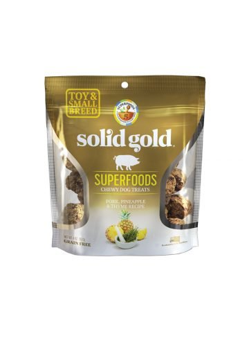 Solid Gold Solid Gold Chewy Dog Treats Pork Pineapple & Thyme 4 oz