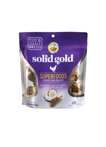 Solid Gold Solid Gold Chewy Dog Treats Chicken Chia Seed & Coconut Milk 4 oz