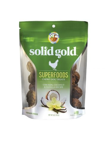 Solid Gold Solid Gold Chewy Dog Treats Chicken Coconut & Vanilla 6 oz