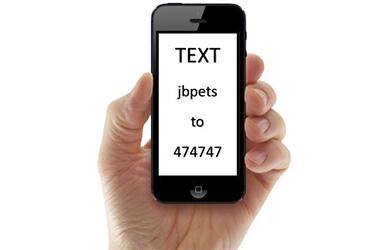 JB Pet Text Specials