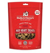 Stella & Chewy Freeze Dried Treats Beef Heart 3 oz.
