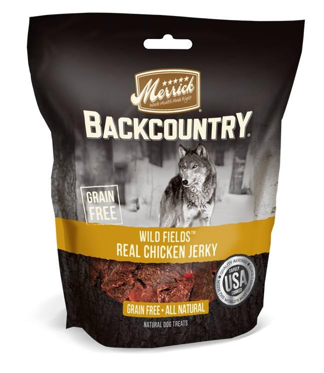Merrick Merrick Backcountry Wild Prairie Real Chicken Jerky