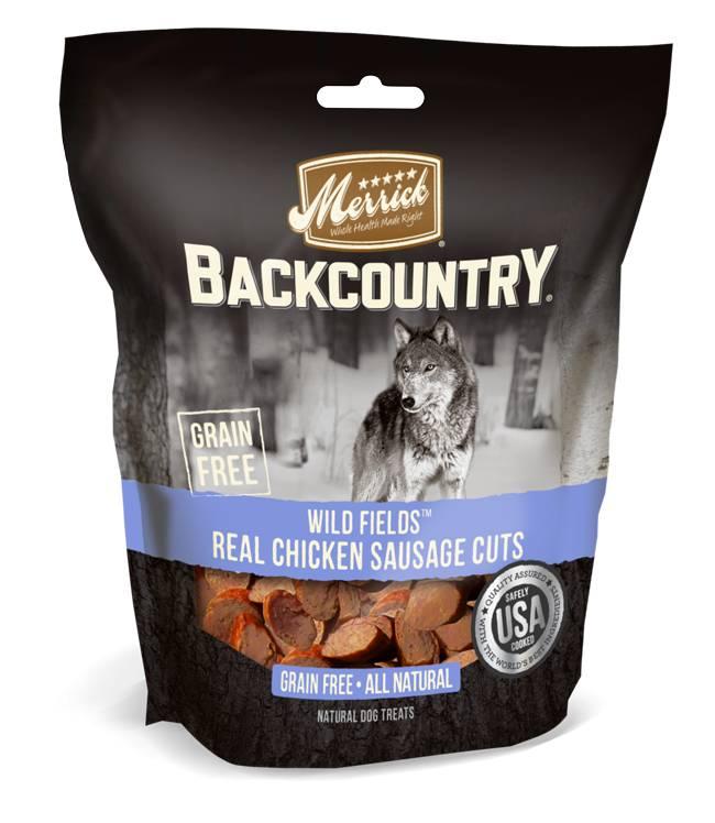 Merrick Merrick Backcountry Wild Prairie Real Chicken Sausage Cuts
