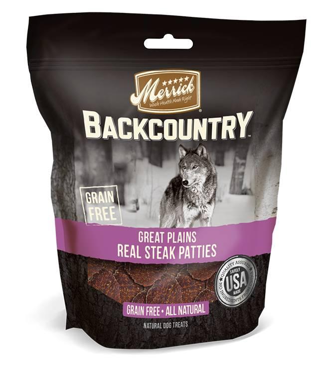 Merrick Merrick Backcountry Great Plains Real Steak Patties