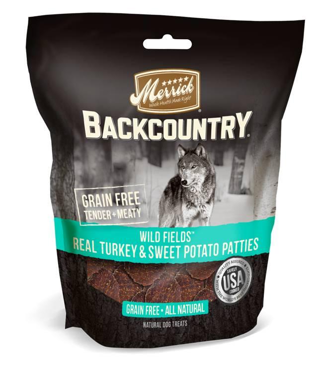 Merrick Merrick Backcountry Wild Prairie Real Turkey & Sweet Potato Patties