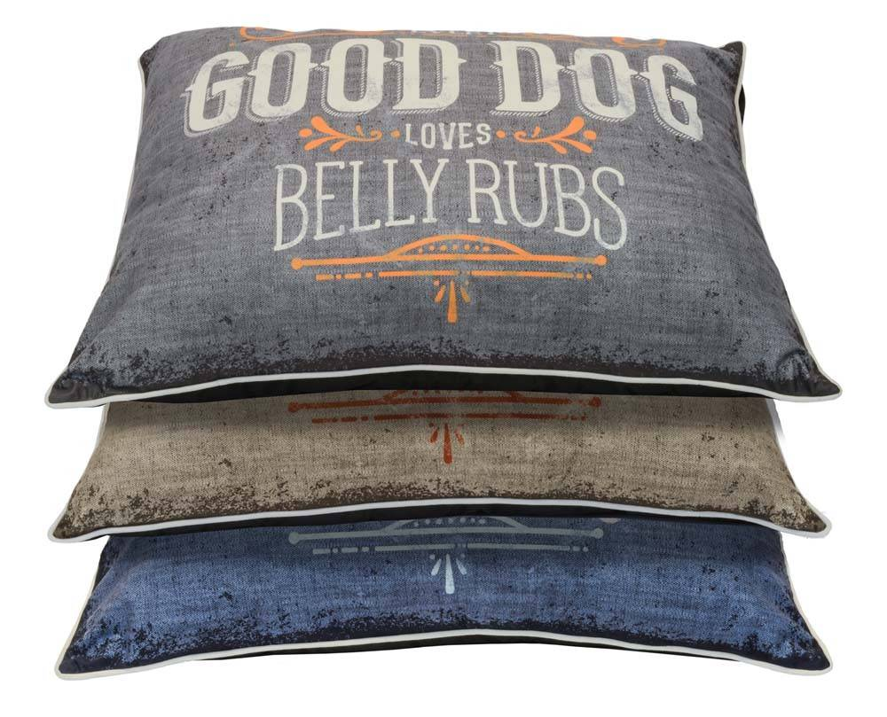 Dallas Maunufacturing Good Dog Fashion Pillow Dog Bed 30x40
