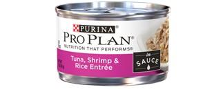 Pro Plan Pro Plan Savor Adult Tuna, Shrimp & Rice Entree - In Sauce 3 oz.