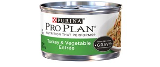 Pro Plan Pro Plan Turkey Vegetable Can Cat, 3 oz.