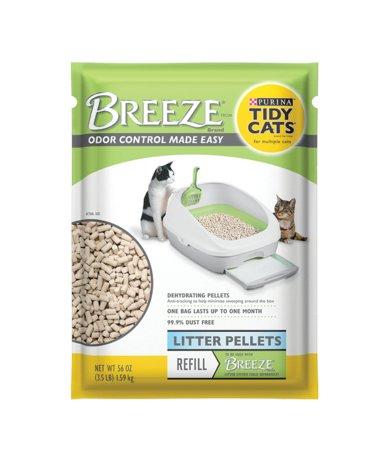 Tidy Cats Tidy Cats Breeze Litter Pellet 7 lb. CASE of 4
