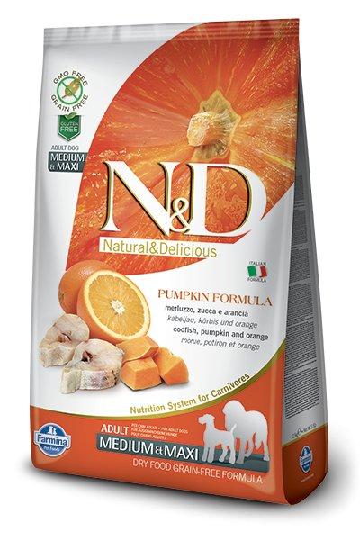Farmina Farmina N+D Pumpkin Grain Free Fish and Orange  Medium and Maxi