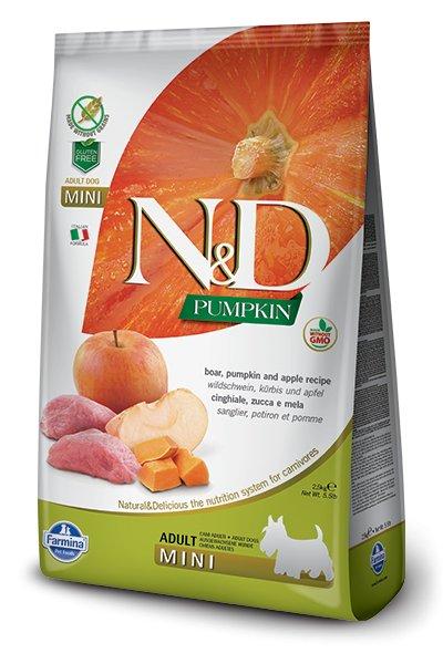 Farmina Farmina N+D Pumpkin Grain Free Pumpkin and Boar Mini
