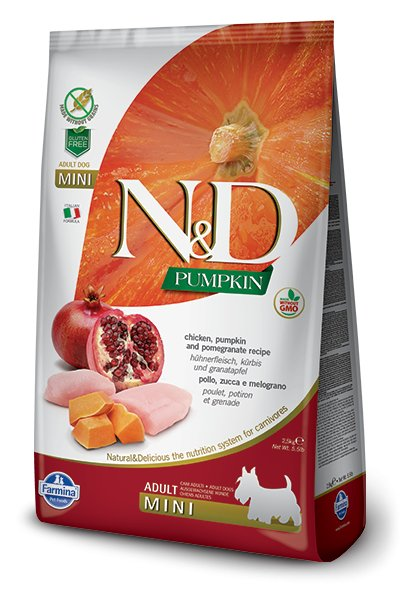 Farmina Farmina N+D Pumpkin Grain Free Chicken and Pomegranate Mini