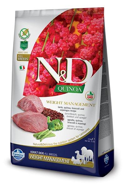 Farmina Farmina N+D Quinoa Functional Canine Weight Management Lamb