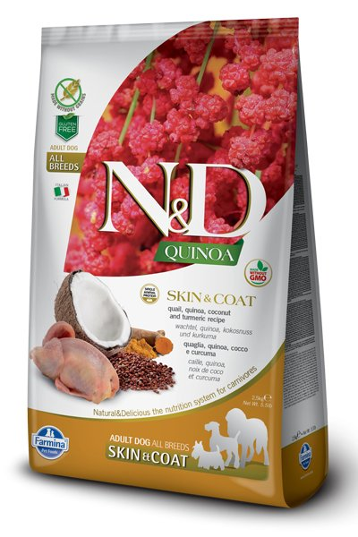 Farmina Farmina N+D Quinoa Functional Canine Skin and Coat Quail