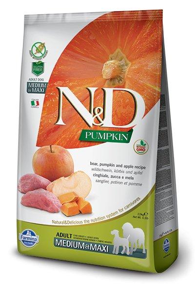 Farmina Farmina N+D Pumpkin Grain Free Boar and Apple Medium and Maxi
