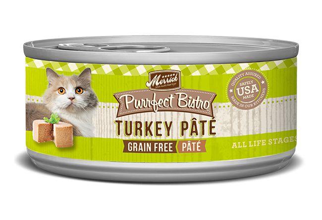 Merrick Merrick Purrfect Bistro Turkey Pate 5.5 Oz.