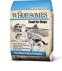 Sportmix Sportmix Wholesomes Fish and Rice 40 lb.
