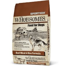 Sportmix Sportmix Wholesomes Beef and Rice 40 lb.