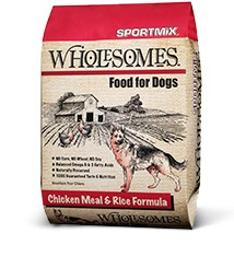 Sportmix Sportmix Wholesomes Chicken and Rice 40 lb.