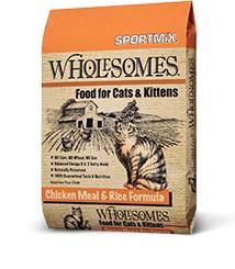 Sportmix Sportmix Wholesomes Cat Food 15 lb.