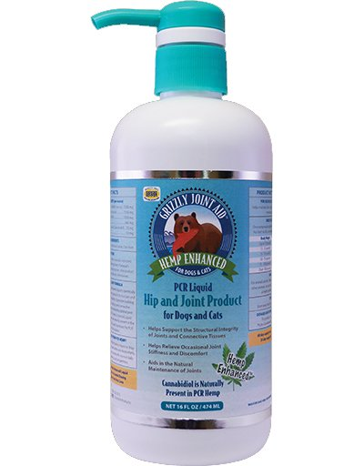 Grizzly Pet Product Grizzly CBD Joint Aid Liquid 16 oz.