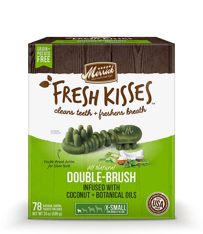 Merrick Merrick Fresh Kisses Coconut Extra Small Brush