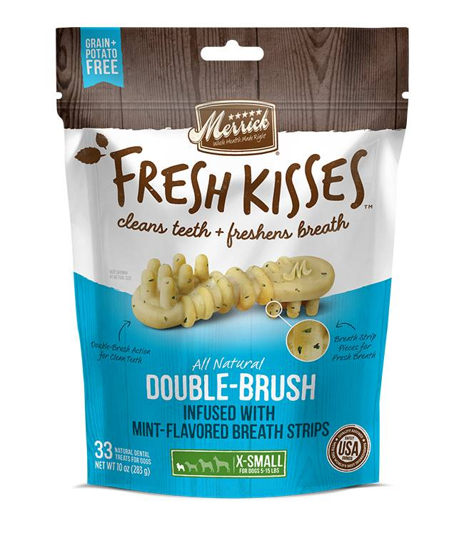 Merrick Merrick Fresh Kisses Mint Extra Small Brush