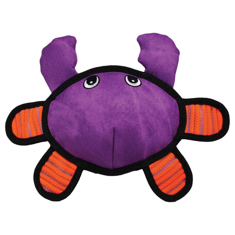 Kong Kong Roughskinz Crab Dog Toy
