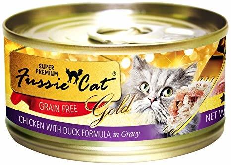 Fussie Cat Fussie Cat Super Premium Cat Can Chicken/Duck