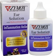 Zymox Zymox Ear Solution with 5% Hydrocortisone