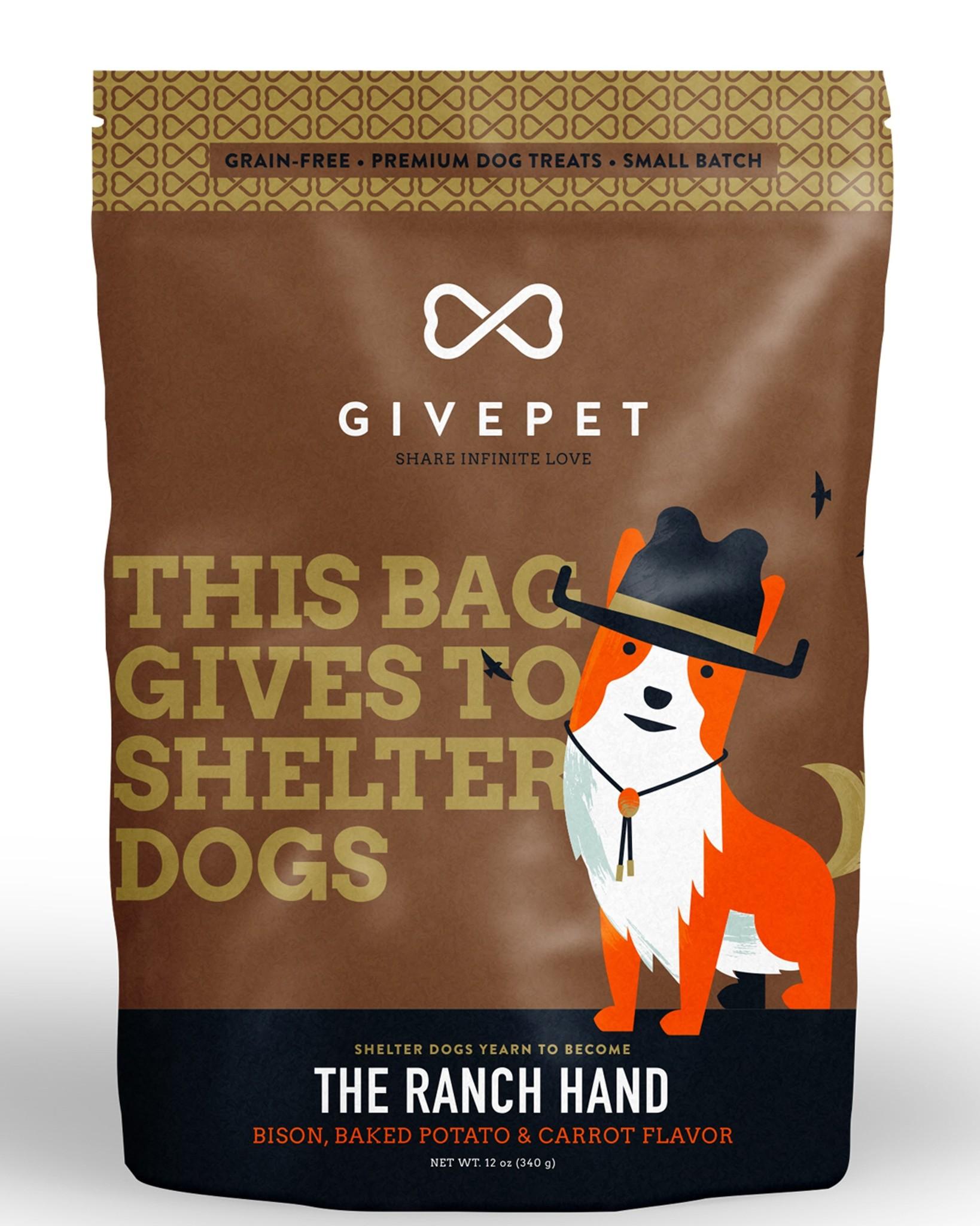 Givepet Givepet Ranch Hand Dog Treats