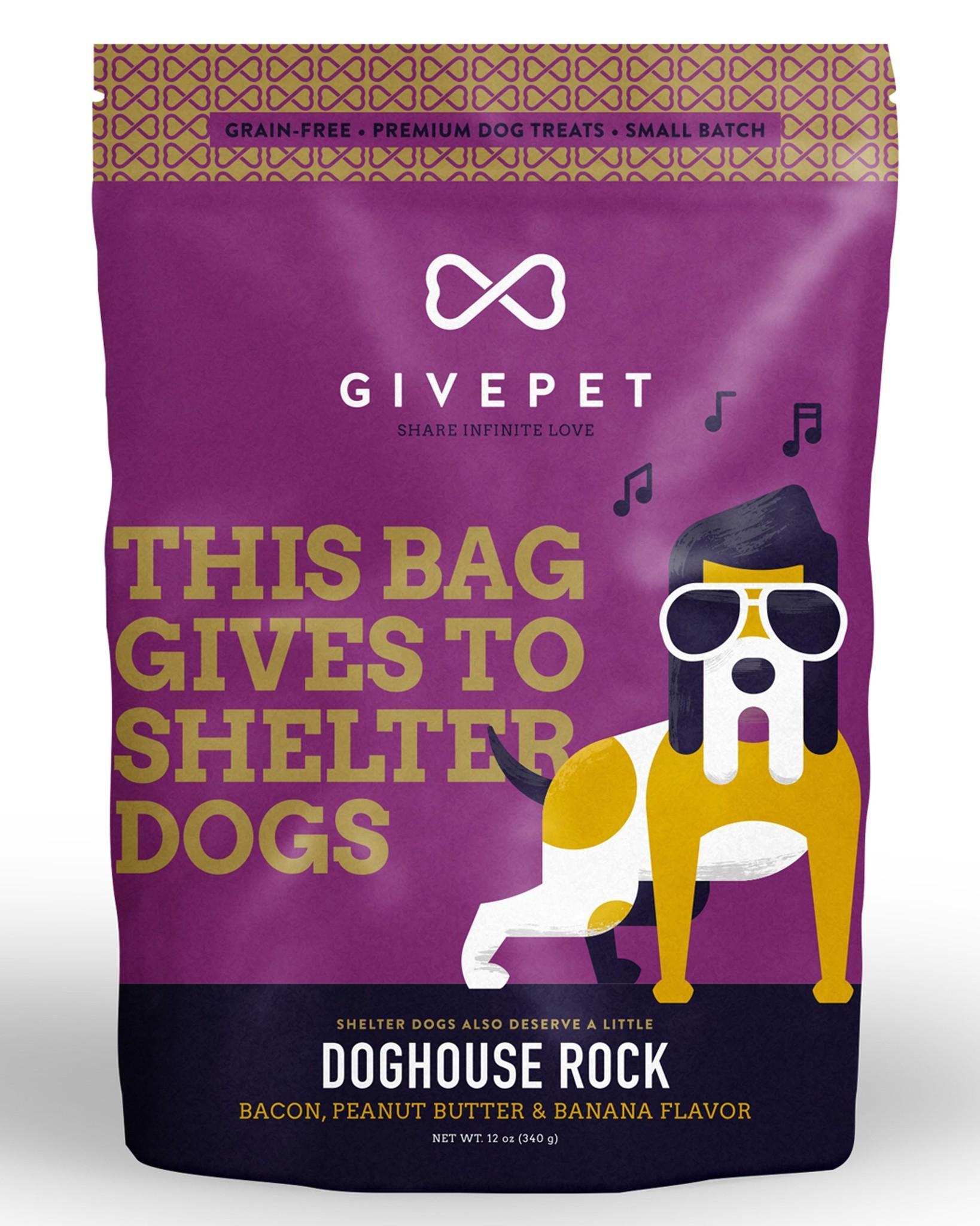 Givepet Givepet Doghouse Rock Dog Treats