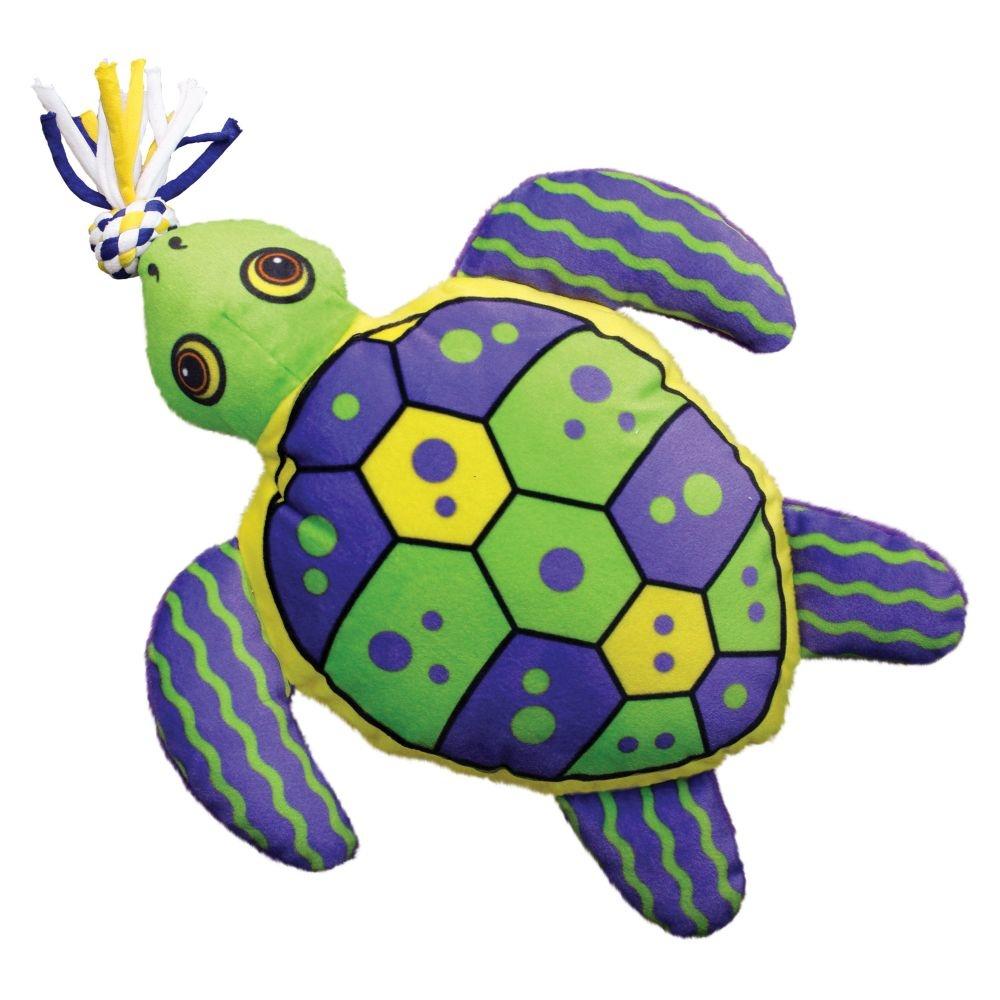 Kong Kong Aloha Turtle Dog Toy