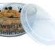 Buddy's Line Buddy's Line Glass Food/Water Bowl w/Silicone Lid