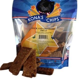 Kona's Chips Kona's Chips Duck and Cranberry Treat 8 oz.