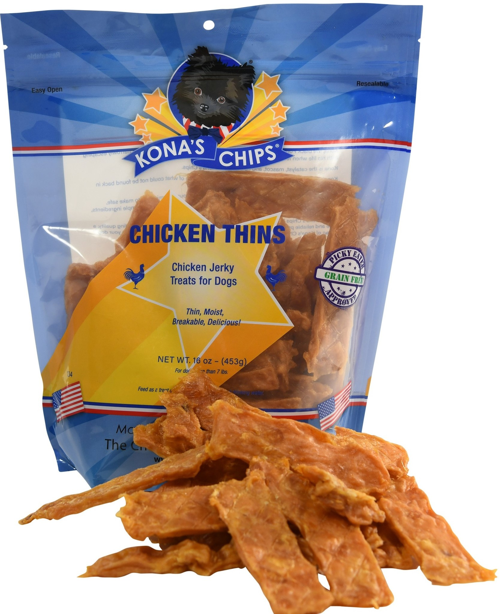 Kona's Chips Kona's Chips USA Chicken Thins