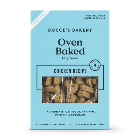 Bocces Bakery Bocces Bakery Just Chicken Pumpkin Biscuits 14 oz.